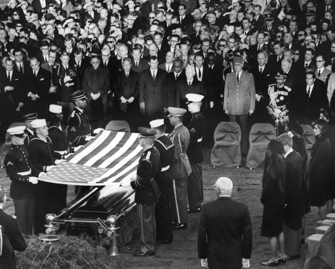 "Lyndon Johnson's role in William Manchester's ""The Death of a President"""